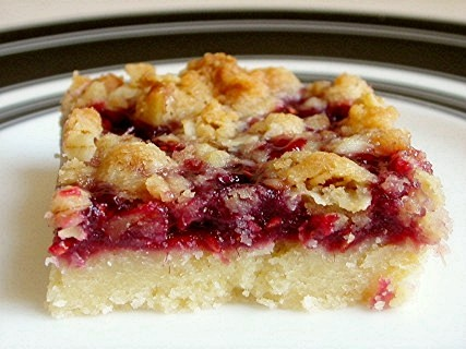 The Domestic Curator: Raspberry Streusel Bars