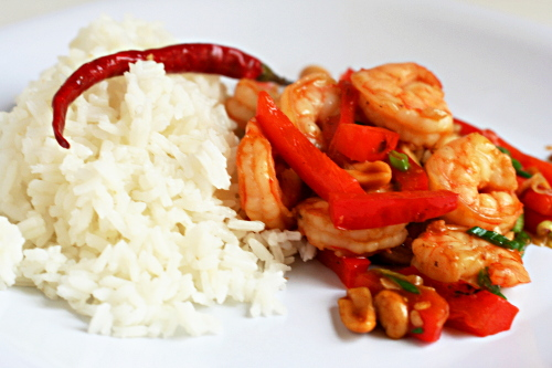 Kung Pao Shrimp (from Cooks Illustrated)